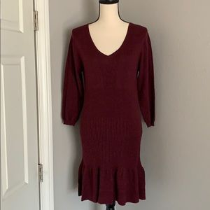 Beautiful deep wine dress